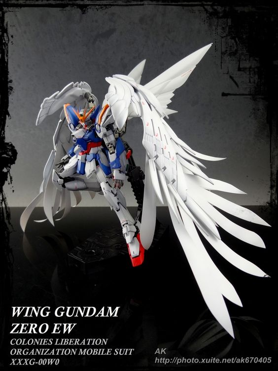 "Custom Build: RG 1/144 Wing Gundam Zero Custom EW Ver. "" - Gundam Kits Collection News and Reviews"