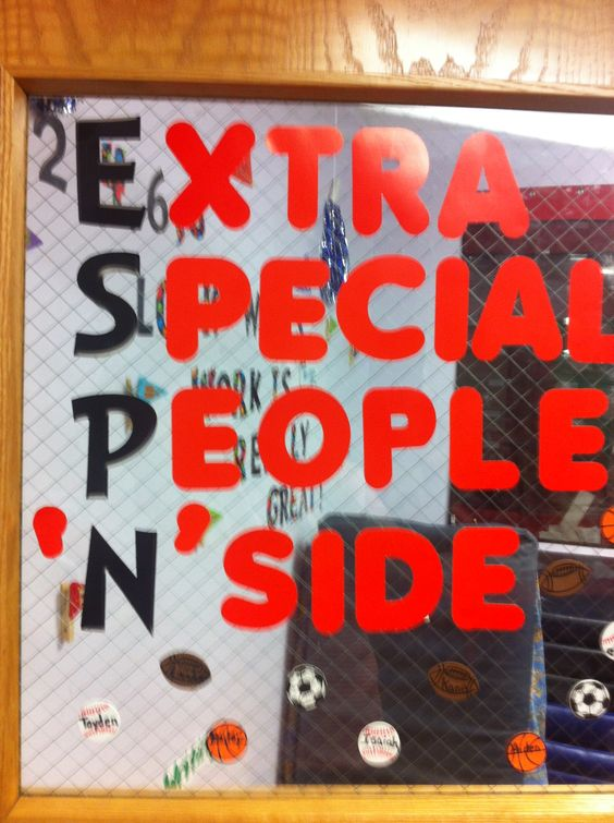 Cute Classroom Decorating Ideas ~ My sports theme classroom door school pinterest