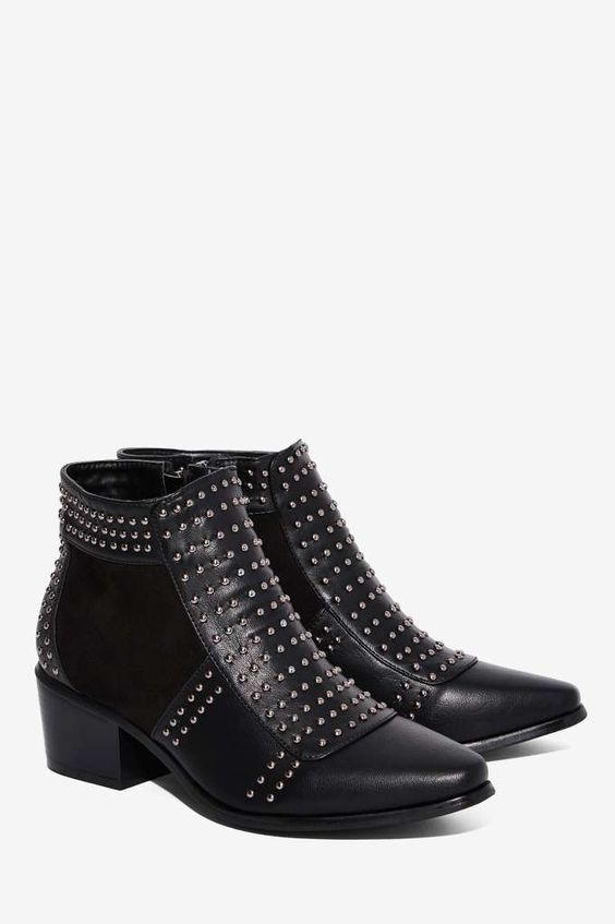Gresham Studded Ankle Boot - Shoes | Boots   Booties | Back In ...