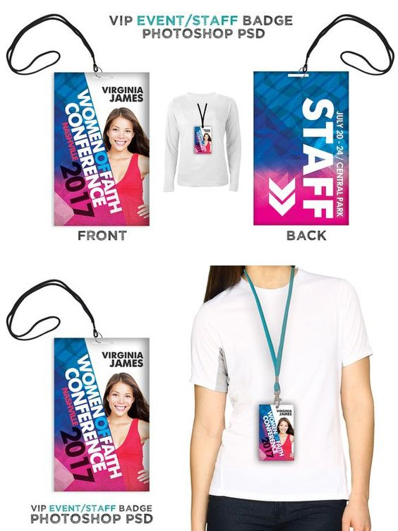 womens event vip badge creative cards creative and women s