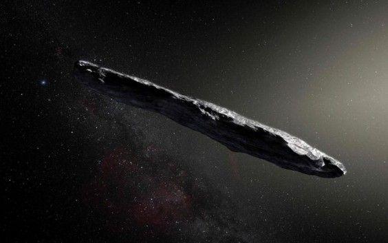 """""""C'est une première. Cet astéroïde en forme de cigare vient d'une autre galaxie"""""""