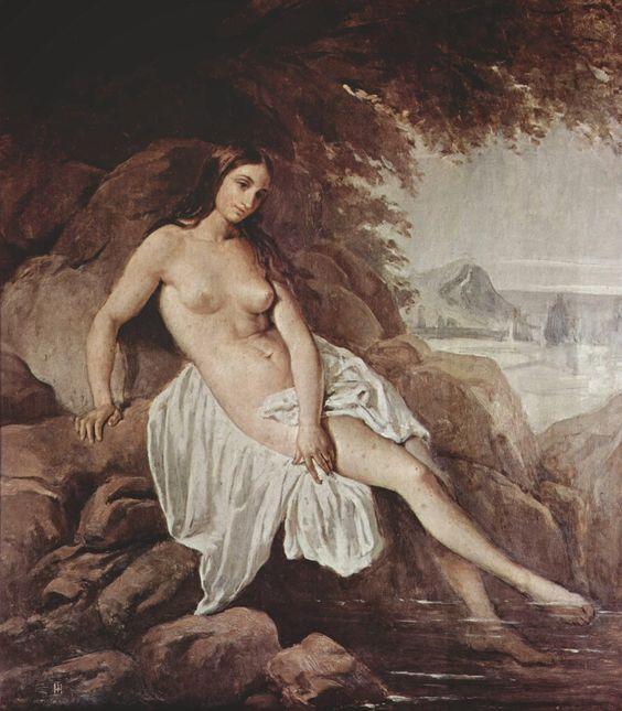 Francesco Hayez | 1791-1882, Italy | Malinconia
