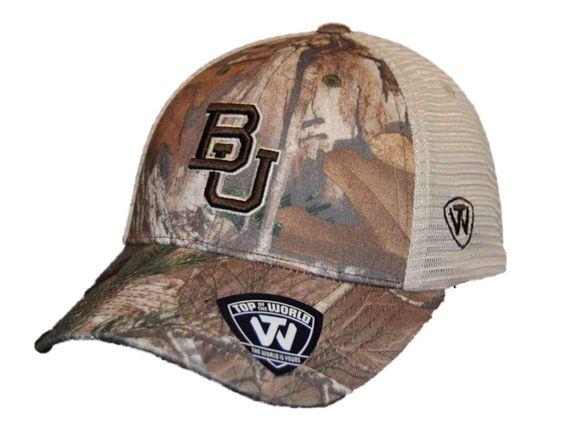 Baylor Bears TOW Camo Mesh Prey Adjustable Snapback Hat Cap
