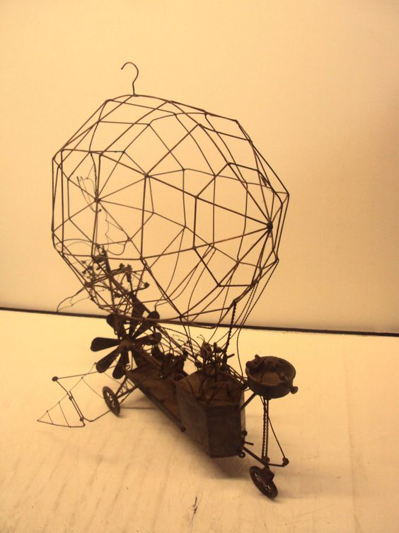 steampunk wire art for - photo #21