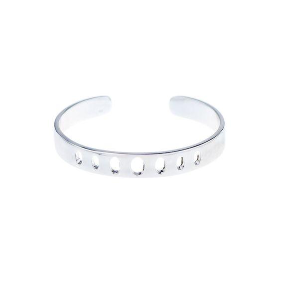 Melanie Auld Standard Cuff - Silver