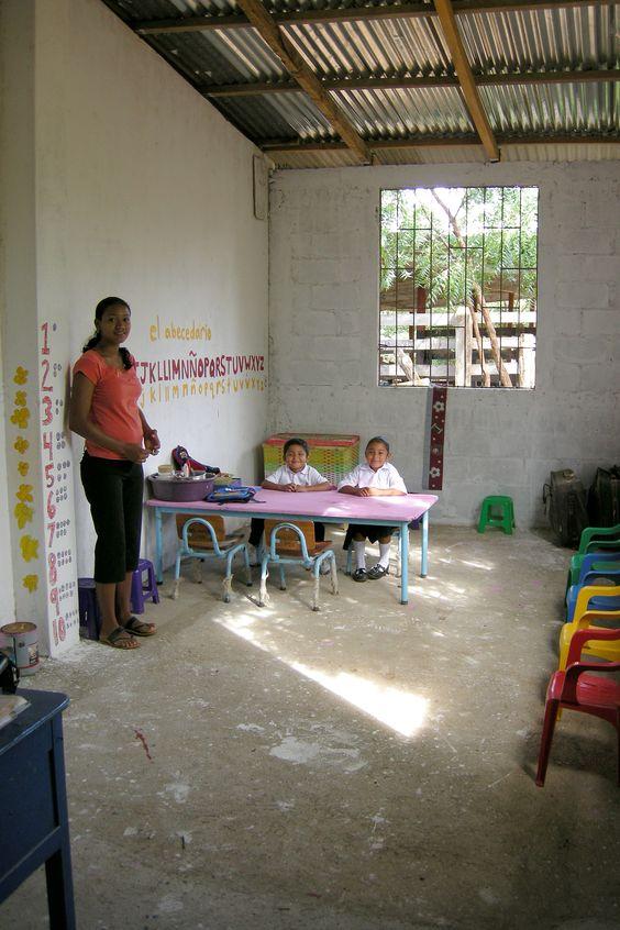 #ThomasConway #NicaraguaSchoolRoom
