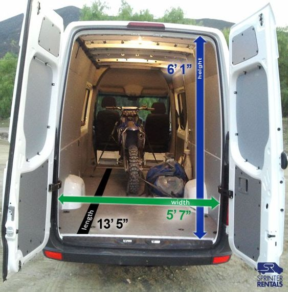 mercedes sprinter van dimensions sprinter sprinter van. Black Bedroom Furniture Sets. Home Design Ideas