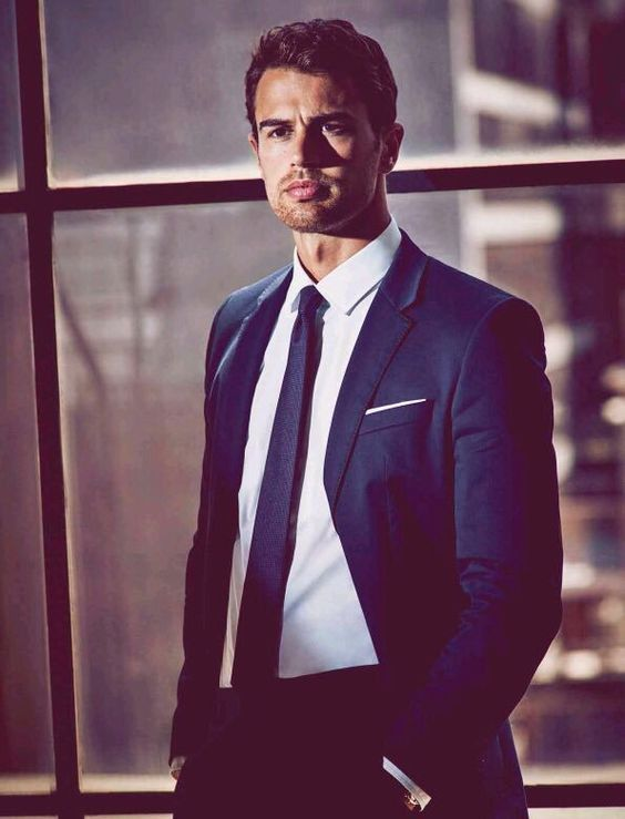 NEW Theo James for Hugo Boss promotional image (via Marie Claire Mexico) #TheoJames #hugoboss #BossTheScent