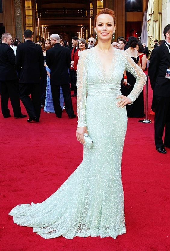 Berenice Bejo (give this woman some bangs!) - Elie Saab