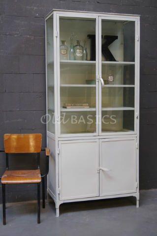 Kasten unieke oude brocante kasten en kasten op maat gemaakt zoals vitrinekasten boekenkasten - Muur hutch ...