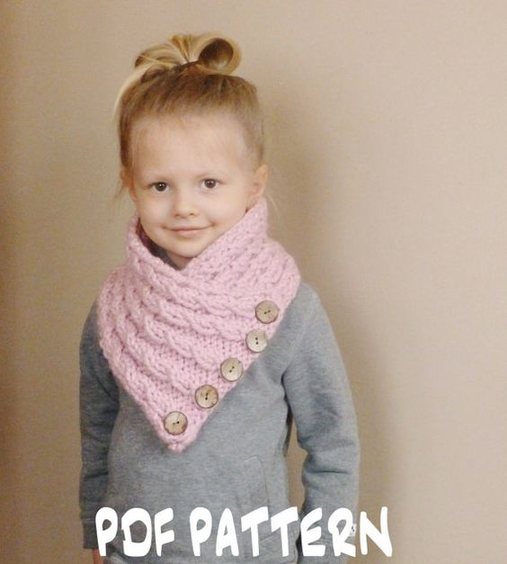 Free Baby Scarf Knitting Pattern : Knitting patterns baby, Knitting patterns and Knit cowl ...