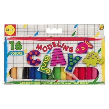 Perfect for creating fun sculptures, your little artist will love the Alex Modeling Clay! The bright and fun clay is ideal for small hands and can be sculpted into all sorts of fun shapes. www.rightstart.com $3.99