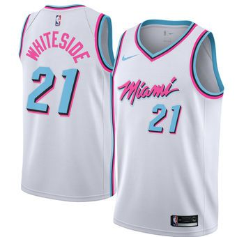 new product ccea2 7b804 Nike Hassan Whiteside Miami Heat Jersey - City Edition #heat ...
