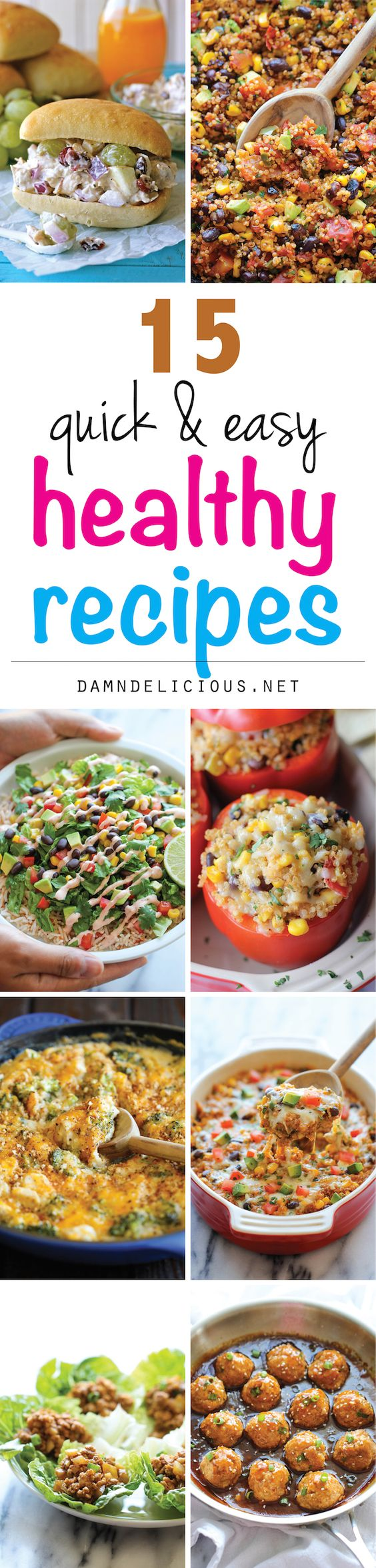 15 Quick And Easy Healthy Recipes Recipe The O 39 Jays And Easy Healthy R