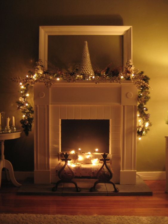 Faux Fireplace Fireplaces And Mantels On Pinterest