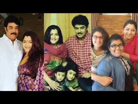 Actress Kushboo With Her Daughters And Sundar C Real Life Photo Gallery Youtube Life Photo Photo Galleries Real Life