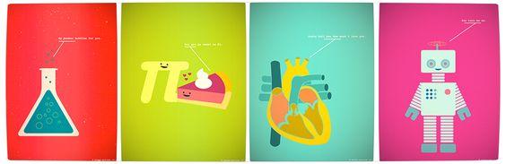 Vamers - Artistry - Minimalist Geek Love Poster - Banner
