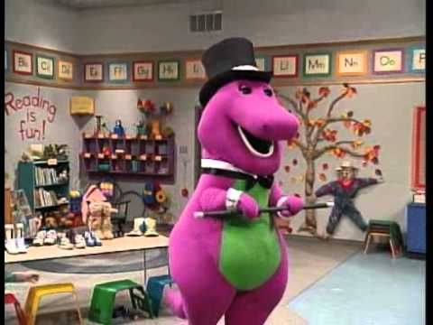 Barney Song Happy Dancing With My Shoes Youtube Barney Friends Pbs Kids Barney