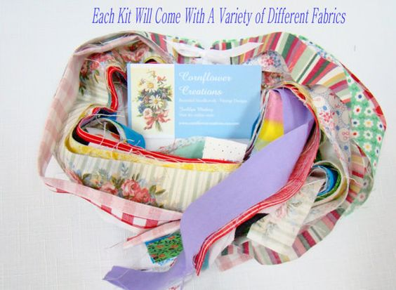 Rag Rug Coaster Tutorial & Kit Ready to by CornflowerCreations