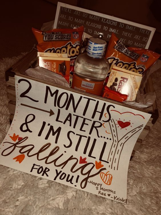 2 Month Anniversary Gift Anniversary Anniversarygifts Anniversarygiftideasf Diy Anniversary Gift Boyfriend Gifts Diy Anniversary Boyfriend Anniversary Gifts