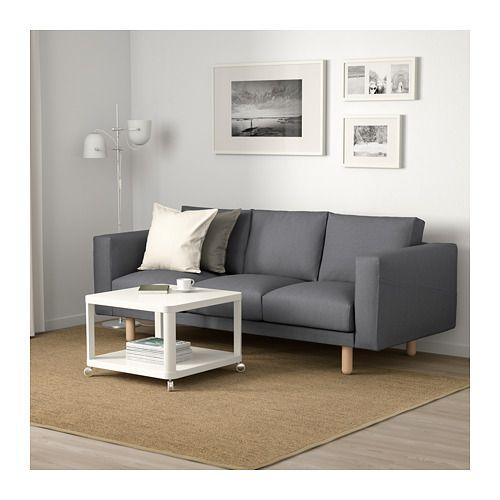 Norsborg 3 Zitsbank Edum Beige Koop Het Vandaag Ikea Corner Sofa Bed Friheten Sofa Three Seat Sofa