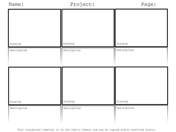 Doing A Digital Storytelling Lesson? Hereu0027s A Free - free storyboard templates