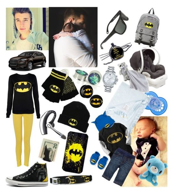 """""""James & Bruce"""" by beth-black ❤ liked on Polyvore featuring Carter's, Little Giraffe, Old Navy, Spy Optic, Converse, Movado, Samsung and Mother"""