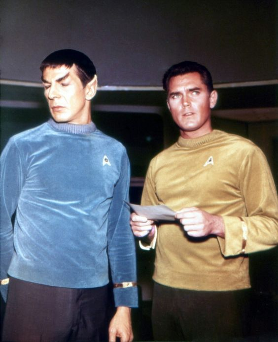 Image result for captain pike and spock
