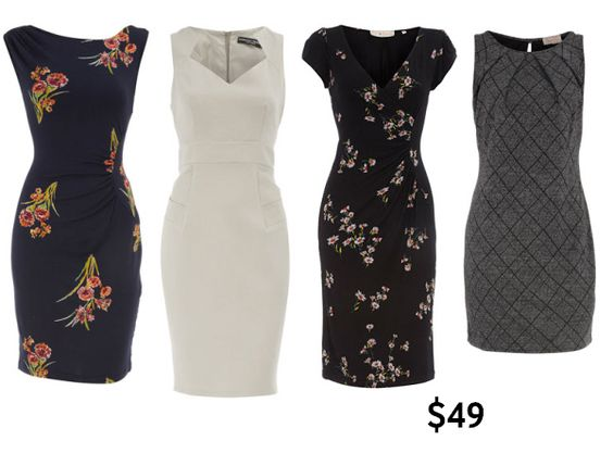 Work Outfits For Women | Women's work clothes and shoes under $50 ...