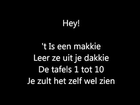 tafellied - YouTube