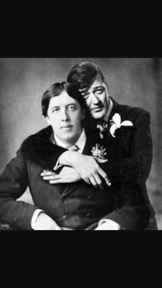 Oscar and Stephen Fry
