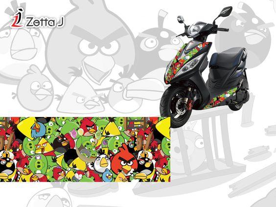 Angry Birds Sticker Bomb