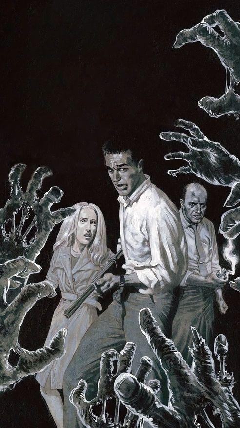 Night Of The Living Dead 1968 Phone Wallpaper En 2019