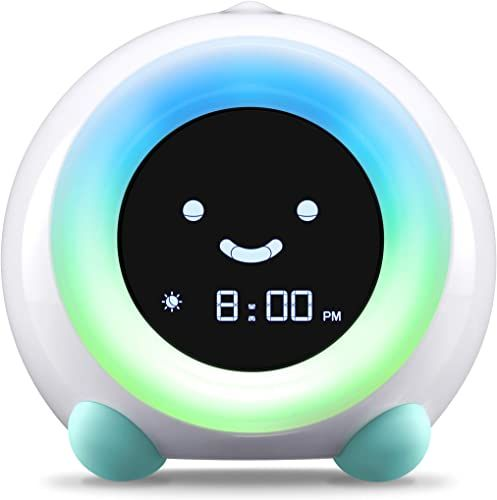 Amazing Offer On Littlehippo Mella Ready Rise Children S Trainer Alarm Clock Night Light Sleep Sounds Machine Arctic Blue Online In 2020 Best Night Light Clock For Kids Alarm Clock