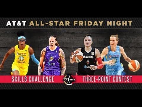 2019 Wnba All Star Skills Challenge And Three Point Contest Highlights 7 Three Point Contest Wnba All Star