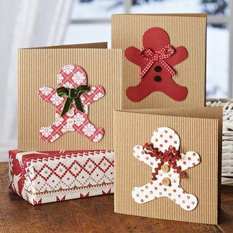 Gingerbread Men Cards | Craft Ideas & Inspirational Projects | Hobbycraft