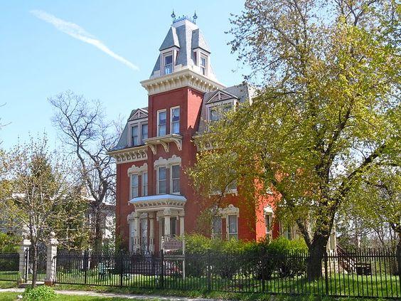Hiram B. Scutt Mansion Joliet, IL