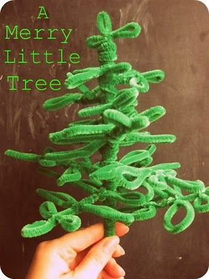 Pipe Cleaner Tree <3