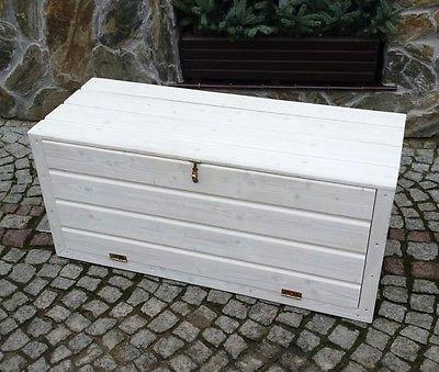 Holztruhe Gartentruhe Schrank Truhe Auflagenbox Kissenbox Gartenbox Box Auflagen