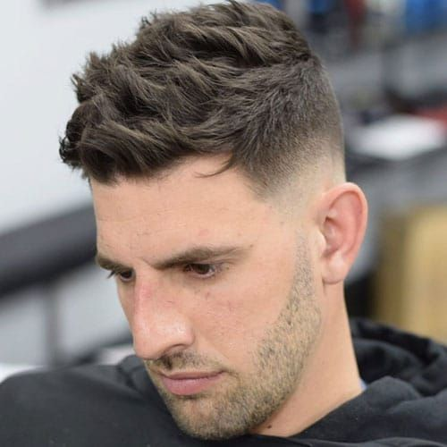 Gorgeous Messy Medium Mens Hairstyles Messymediummenshairstyles Mid Fade Haircut Fade Haircut Mens Haircuts Fade