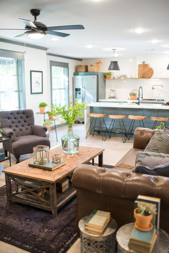 Great Living Room Ideas Seen On Fixer Upper Filling The Living Room Void Pinterest Islands