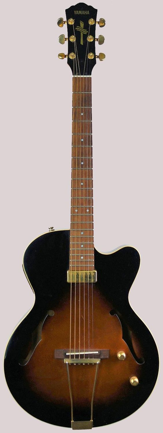 Yamaha AEX500 FM electric acoustic guitar