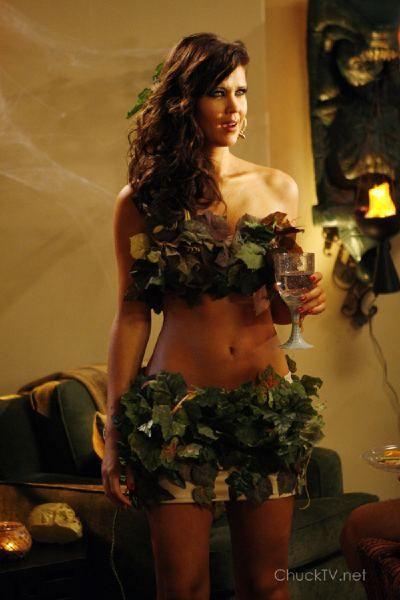 #Chuck #Sarah Lancaster #Ellie Bartowski #eve #halloween costume