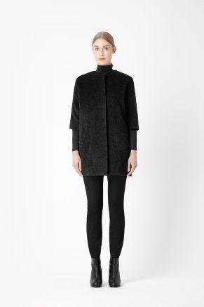 COS Wool mohair coat