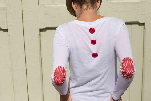 où comment rendre un t-shirt tout basique super original !