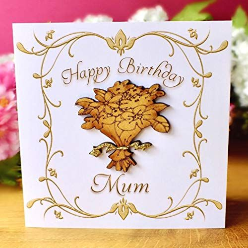 Birthday Card For Mum Luxury Handmade Bright Heart Desig Https Www Amazon Co Uk Dp B0 Luxury Birthday Cards Birthday Cards For Mum Birthday Cards For Her
