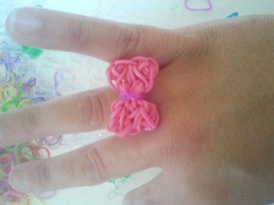 Lazo rosa gomitas!