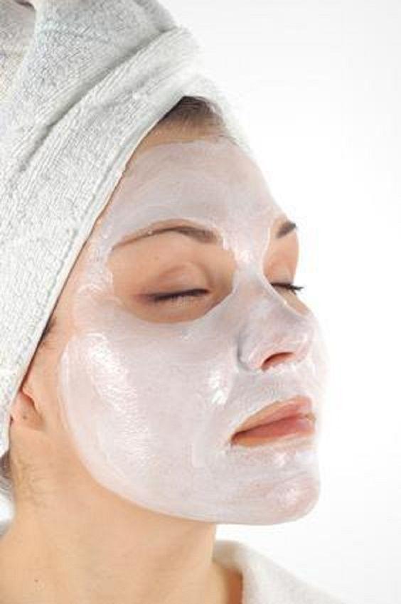 Facial mask dislodge lymph