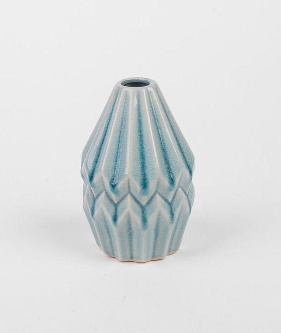 Wohnaccessoires   BLOOMINGVILLE Vase Blue   KAUF DICH GLÜCKLICH ONLINE SHOP