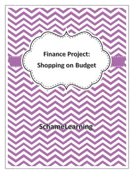 Resource Planning Worksheet Finance Activity Shopping On A Budget  Student Writing And  Context Clues 4th Grade Worksheets Pdf with America The Story Of Us Superpower Worksheet Excel Go On Centimeter Worksheet Excel